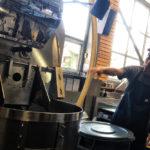 旅の始まりとBLUE BOTTLE COFFEEロースタリーツアー