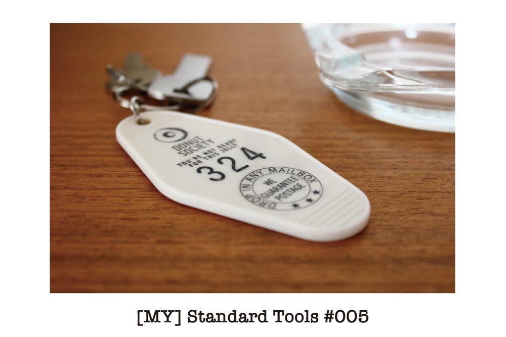 [MY] Standard Tools #005 : ロードムーヴィーに出てくるようなキーホルダー