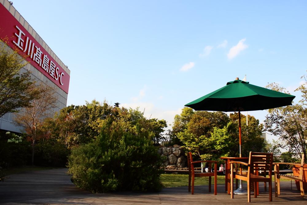二子玉川、玉川高島屋SCにある屋上庭園というチルスポット