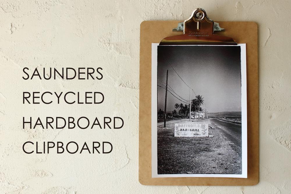 「SAUNDERS」のオールドスクールなクリップボード