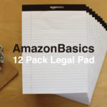 ラフに使い倒すのに最適なメモ書き。Amazonベーシックのリーガルパッド