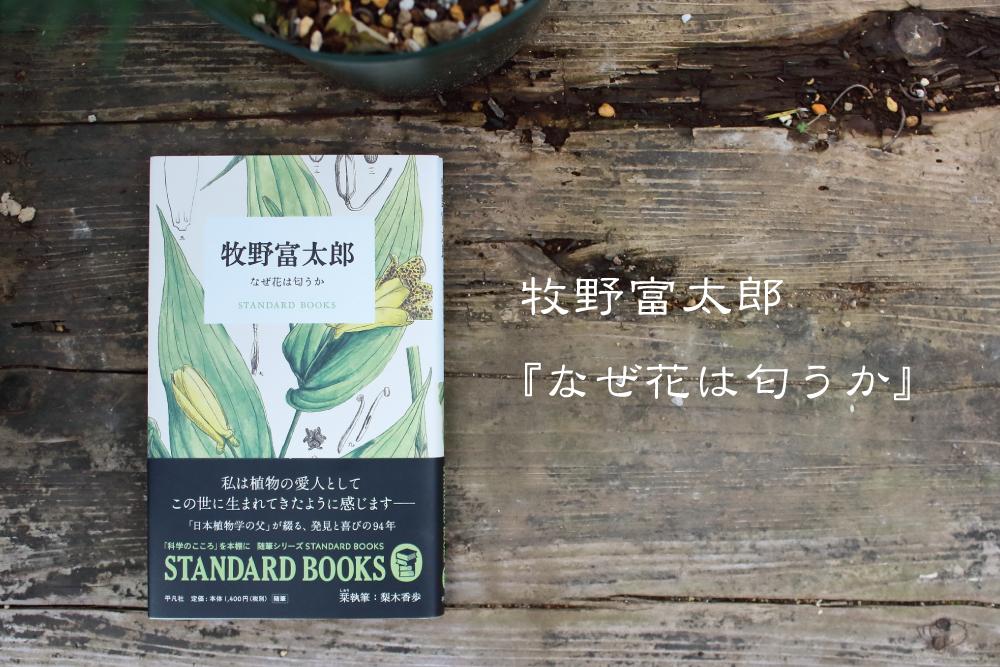 好きこそ、原点。牧野富太郎『なぜ花は匂うか』を読んで