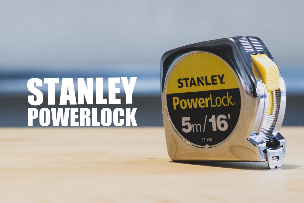 ゴツくてシンプル。スタンレーのメジャー「POWER LOCK」